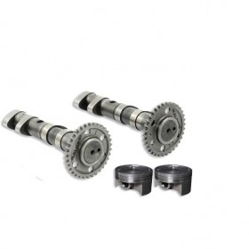[PACK] double power cam + couple de pistons forgés MALOSSI