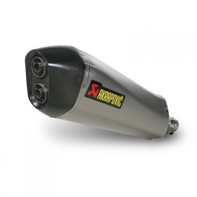 AKRAPOVIC SILENCIEUX PIAGGIO MP3 400/400 LT (2008-2014)