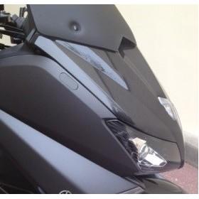 Obturateur retroviseur noir Tmax 530 (vendu la paire )