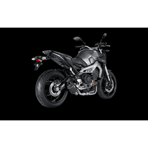 akrapovic ligne complete inox carbone pour mt 09 yamaha. Black Bedroom Furniture Sets. Home Design Ideas