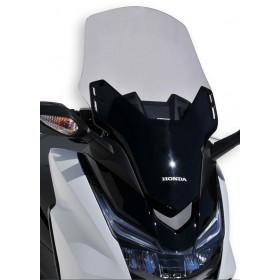 Pare brise scooter +10 cm 57cm  Ermax pour 125 Forza (+ kit fix) 2015/2016