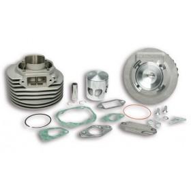 Cylindre + culasse aluminium MHR Malossi pour Vespa 125