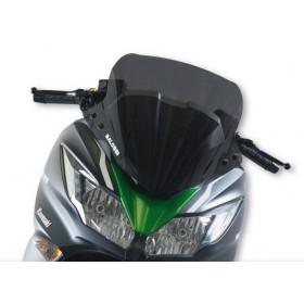 Bulle Malossi sport claire foncée pour Kawasaki J ABS