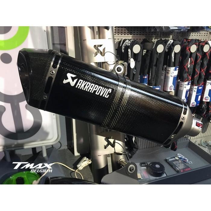 Ligne Echappement Complet Akrapovic Racing Carbone Yamaha Tmax 560 T Max 530 Dx Sx Std
