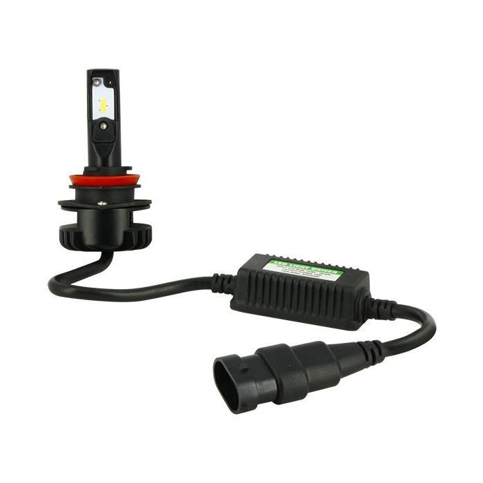 Kit éclairage ampoule Leds H11 avec ballast